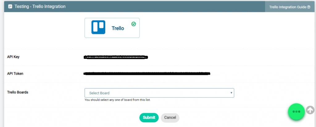 Mapping Trello to Project - Step 2