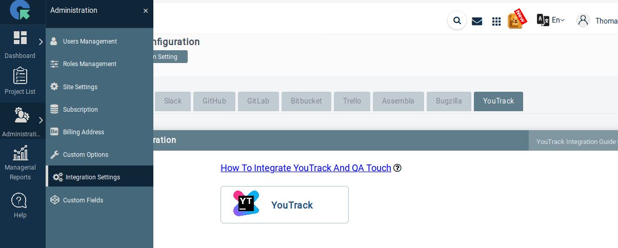 YouTrack Integration