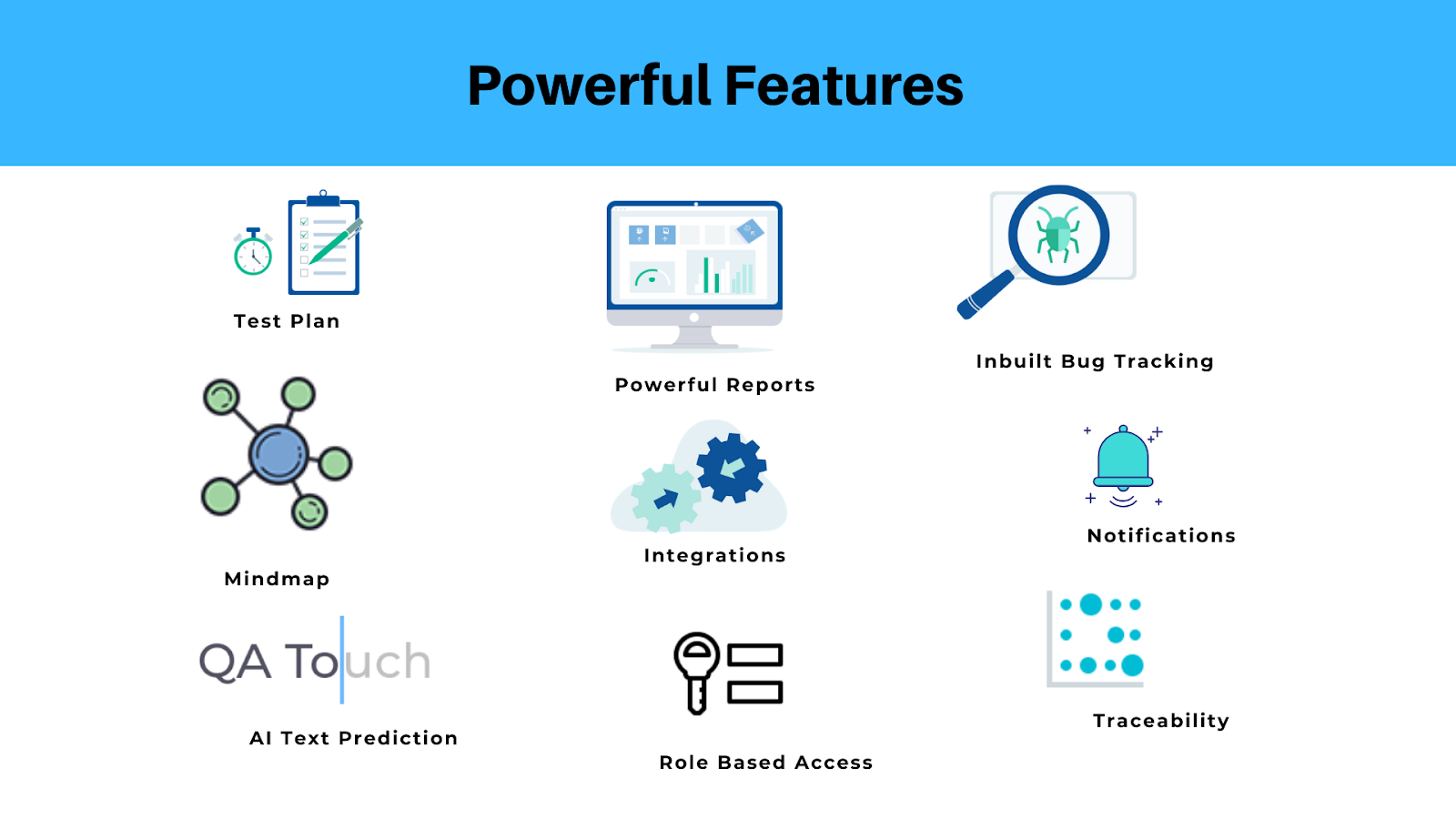 QA Touch Powerful Features